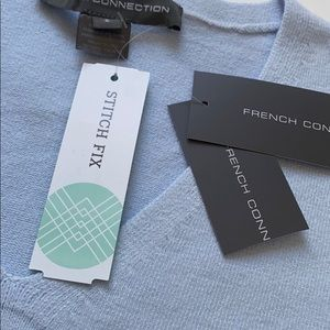 French Connection STITCH FIX Blue Sweater